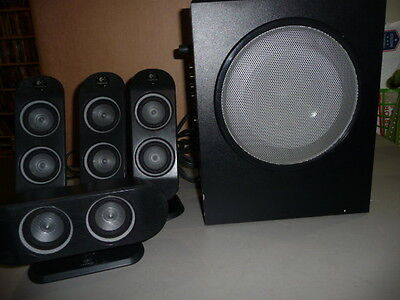 Logitech X-530 5.1 Surround Sound Speakers w/ Subwoofer  FREE SHIPPING