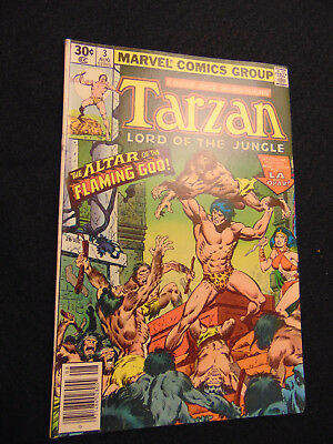 TARZAN #3 (Aug 1977, Marvel)  .99 AUCTIONS with NO RESERVE!
