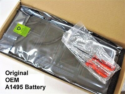 "New Genuine OEM APPLE MacBook Air 11"" A1370 2011 A1465 2012-2014 A1495 Battery"