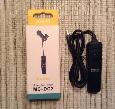 NEW Shoot/Nikon MC-DC2 Wired Remote Shutter Timer Release Cord for DSLR Cameras
