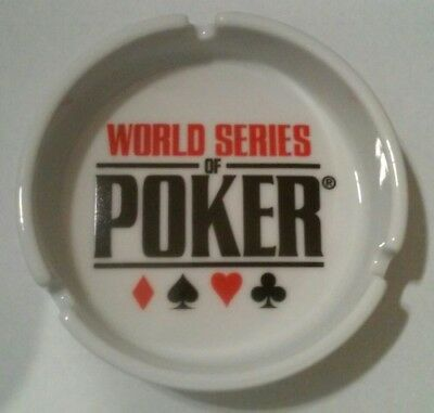World Series Of Poker Suits Logo Ashtray From Las Vegas, Nevada!