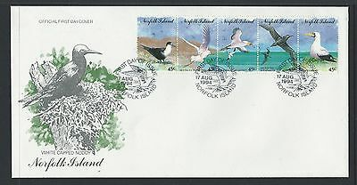 1994 NORFOLK ISLAND Sea Birds First Day Cover - SOME SMALL HANDLING CREASES