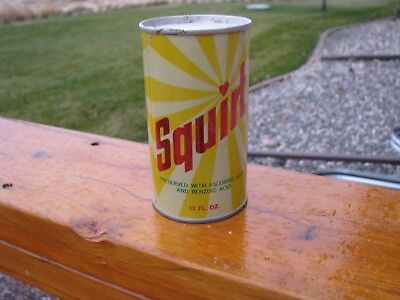 Early SQUIRT Straight Steel Soda Can