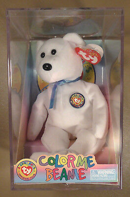 Ty Beanie Baby Color Me Beanie 1993 Retired MWMT Sealed