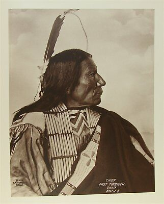 1930's FRANK RINEHART'S NORTH AMERICAN INDIANS w/ 65 LARGE FOLIO PHOTOGRAPHS