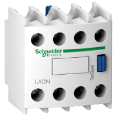 Schneider Electric Offer (LADN04) TeSys D -auxiliary contact block- 4Pole- 4 NC