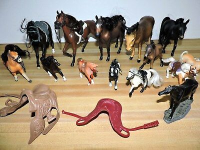 HORSES 16 pcs Kid Kore, Empire, and Unmarked