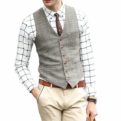 Zicac Men's Unique Advanced Custom Vest Skinny Wedding Dress Waistcoat