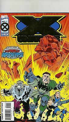 X Universe # 1 May 1995 Marvel Comics The Age of Apocalypse