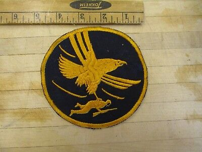 WW 2 US Army Air Forces 1st Air Support / Troop Carrier Command Patch