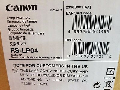 Canon RS-LP04 Lamp Fast Shipping