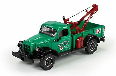2017 Texaco 1946 Dodge Power Wagon Wrecker Tow Truck #7 U.s.a. Series Sold Out