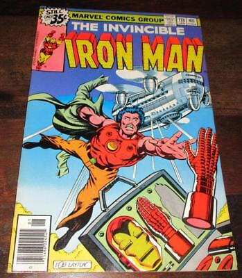 Iron Man #118 1979 Byrne 1St Jim Rhodes Nice Vf/near Mint Comic!!!