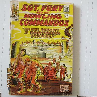 Sgt. Fury and His Howling Commandos 16 VG SKU15357 25% Off!