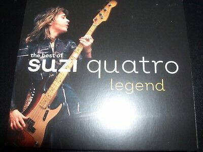 SUZI QUATRO Legend - The Best Of Suzi Quatro (Australia) Best Of CD – New