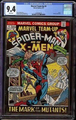 Marvel Team Up # 4 CGC 9.4 White (Marvel, 1972) Hard to find Pictureframe cover