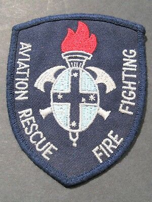 Aviation Rescue & Fire Fighting Australia Australian Obsolete Embroidered Patch