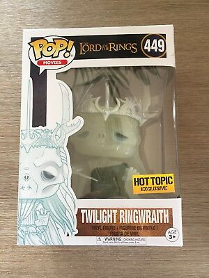 The Lord of the Rings - Twilight Ringwraith Hot Topic Exclusive Funko Pop! Vinyl