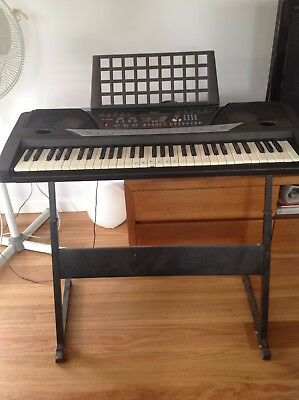 61 Keys Electronic keyboard with Stand and Power Adaptor