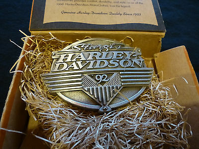 Harley Davidson Buckle neu Gürtelschnalle 1992 Sturgis Bike Week Willie G. rar