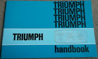 Drivers Handbook,owners manual,Triumph TR6 anno 1973 ENG.