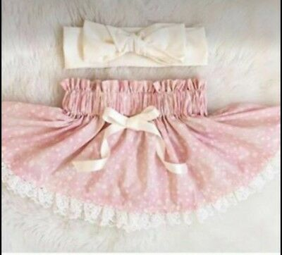 Baby Girl Pink Skirt 9-12 Months