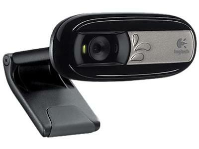 Logitech C170 Webcam VGA-Quality Video with Built-In Mic