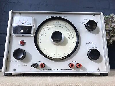 Advance Instruments Lf Oscillator J2E Low Frequency Signal Generator