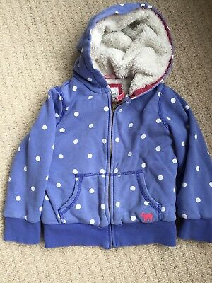 Mini Boden Girls Hoodie. Age 3-4 Years.