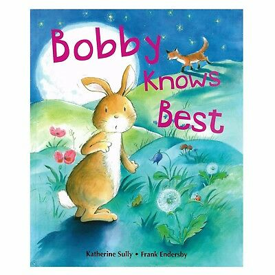 Quality Large Kids Children's Bedtime Story Picture Book - Bobby Knows Best