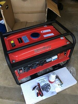 Kraft hertz 3-Phase LB2600 Electric Generator New With Instructions In English
