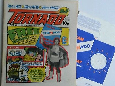 Tornado #2 with free gift 1979 2000ad