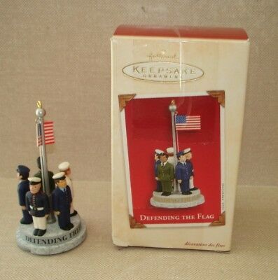 Hallmark Keepsake Ornament-Defending the Flag-w/Box-Dated 2003