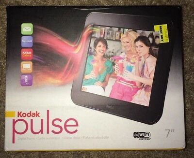 """Kodak Pulse 7"""" WiFi Digital Picture Frame with Activation Code"""