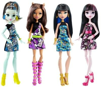 Mattel Monster High Puppen rollierendes Sortiment