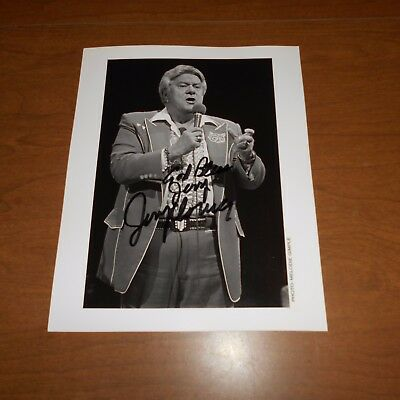 Jerry Clower was an American stand-up comedian Hand Signed Photo