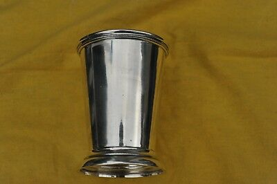 Sterling Silver Julep cup, 4 1/2 in. tall 244 grams