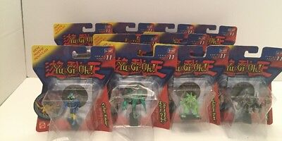 """Yu-Gi-Oh! 2"""" Mini Figures Holo Tiles Series 11 Complete Set of 10 New Sealed"""