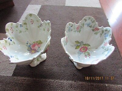 Beautiful Faience Pair Of French 19Th Century Bowls