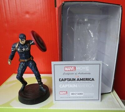 Eaglemoss Marvel Movie Collection Sammelfigur mit Box CAPTAIN AMERIKA