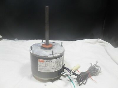 Used ~ Dayton 4M225J Condenser Fan Motor ~ 1/6 HP, 208-230V, 1PH, Frame 48YZ