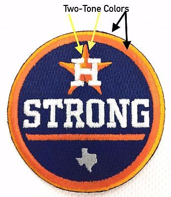 """2.5"""" ASTROS HOUSTON STRONG PATCH BASEBALL JERSEY PATCH World Series Altuve"""