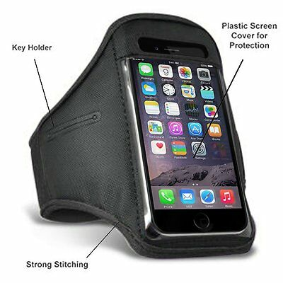 iPhone 5 5S 5C Sports Running Gym Work Out Armband Jogging Case Strap Cover (N3)