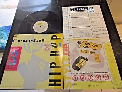Cruicial Hip Hop 3 Rare Lp (Uk Fresh 87) Doug E Fresh Beastie Boys Jazzy Jeff
