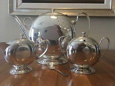 silver coffee tea sets
