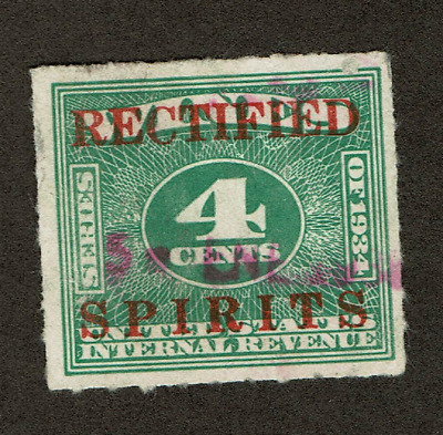 Puerto Rico RE3 4 cents red