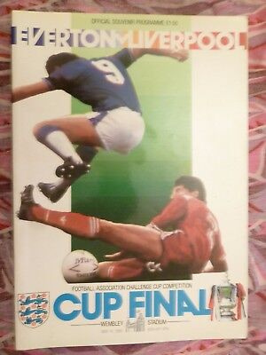 1986 FA Cup FINAL EVERTON v LIVERPOOL - 10th May