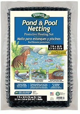 Dalen PN10 Gardeneer By Pond & Pool Netting Protective Floating Net 7' x