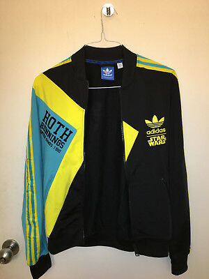 Adidas Star Wars Track Jacket Size Small Hoth Runnings Winter Games 1980
