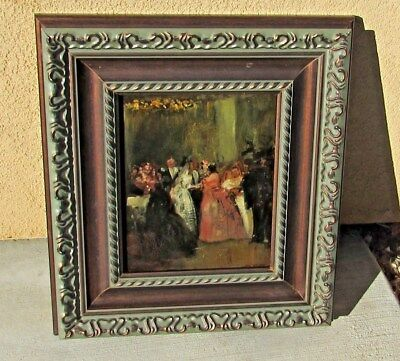 Mystery Artist, Late 19th/Early 20th Century Congratulating the Bride oil